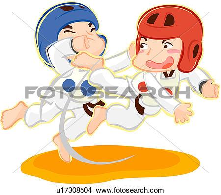 Clipart of sports, headgear, combative arts, military arts.