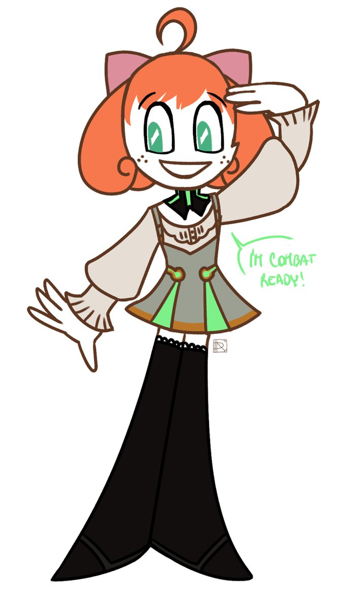 My Life As A (Combat Ready) Teenage Robot by dcathartiq on DeviantArt.