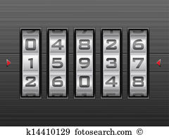 Combination lock Clip Art EPS Images. 1,660 combination lock.
