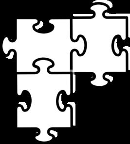 Jigsaw puzzle clip art at vector clip art 2.