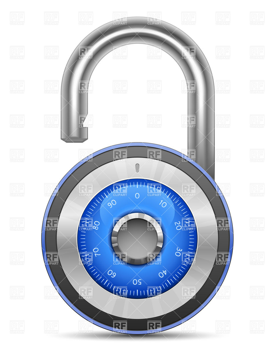 Lock Security Clipart.