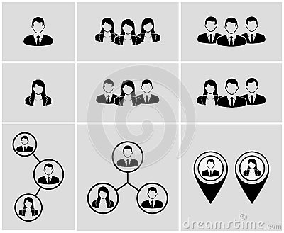Business Clip Art Combinations.