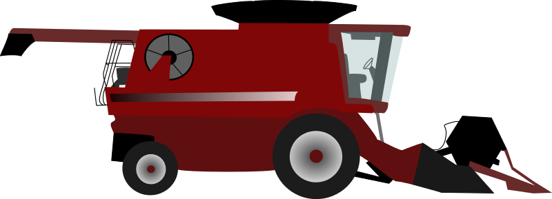 Free Clipart: Combine harvester.