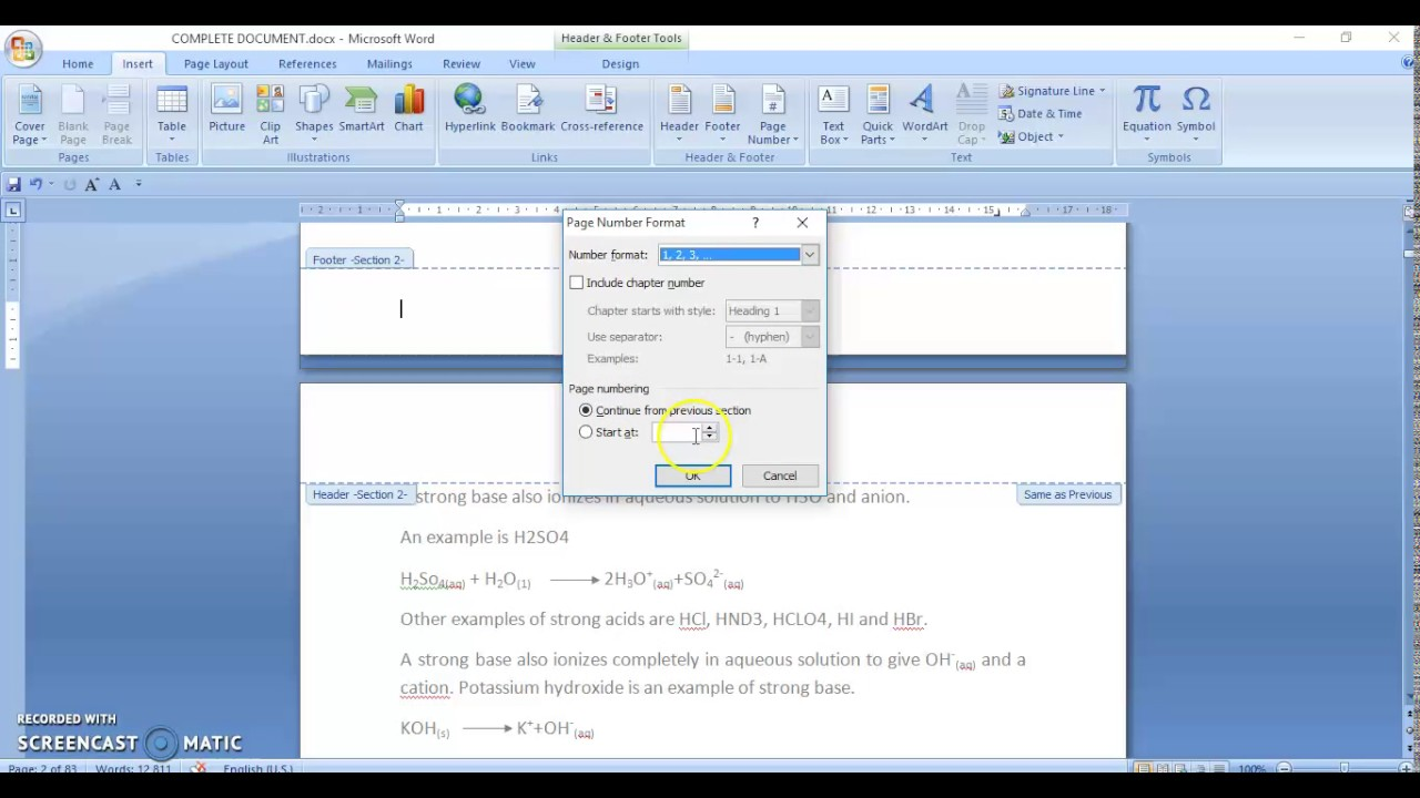 How to merge two or more word documents into one document.