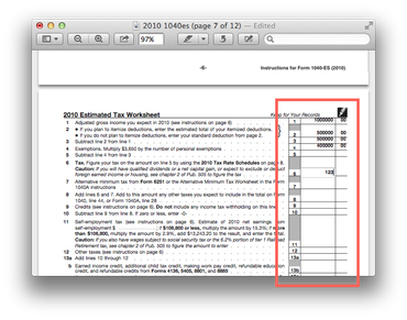 How to flatten PDF forms with Preview in OS X.
