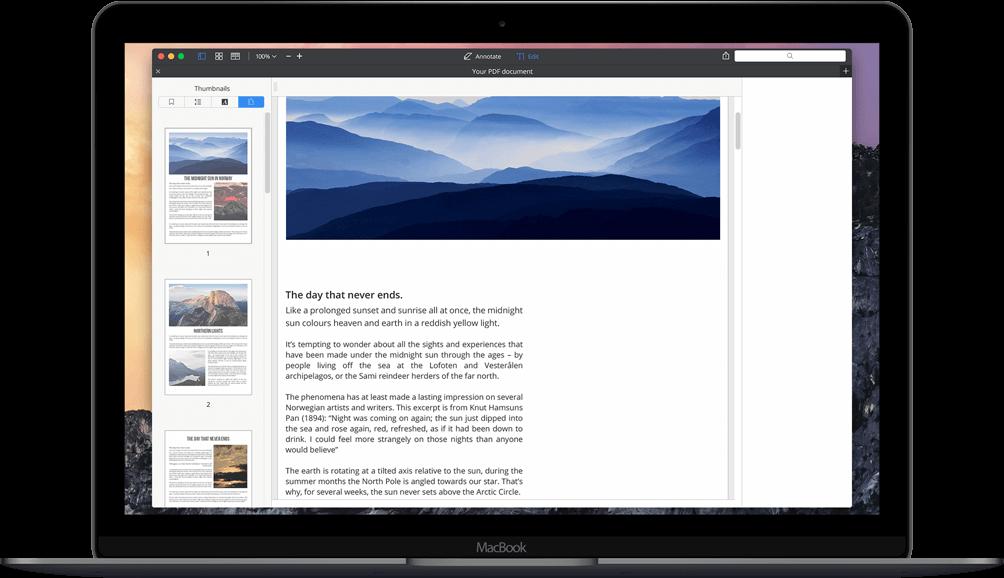 How to edit a PDF on Mac? Edit PDF files on Mac.