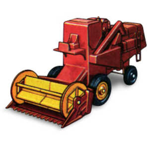 Clipart Combine Harvester.