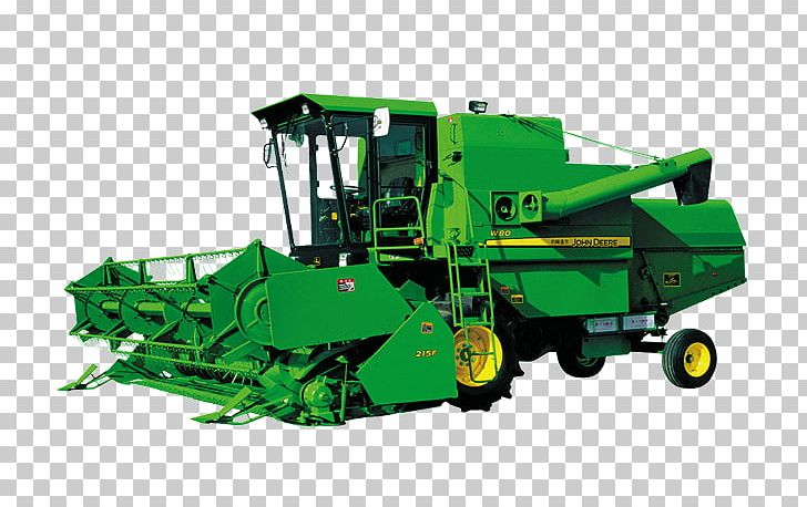 John Deere Agricultural Machinery Combine Harvester PNG, Clipart.