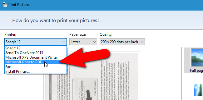 How to Combine Images into One PDF File in Windows.