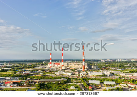 Combined Heat And Power Plant Pipe Stock Photos, Images.