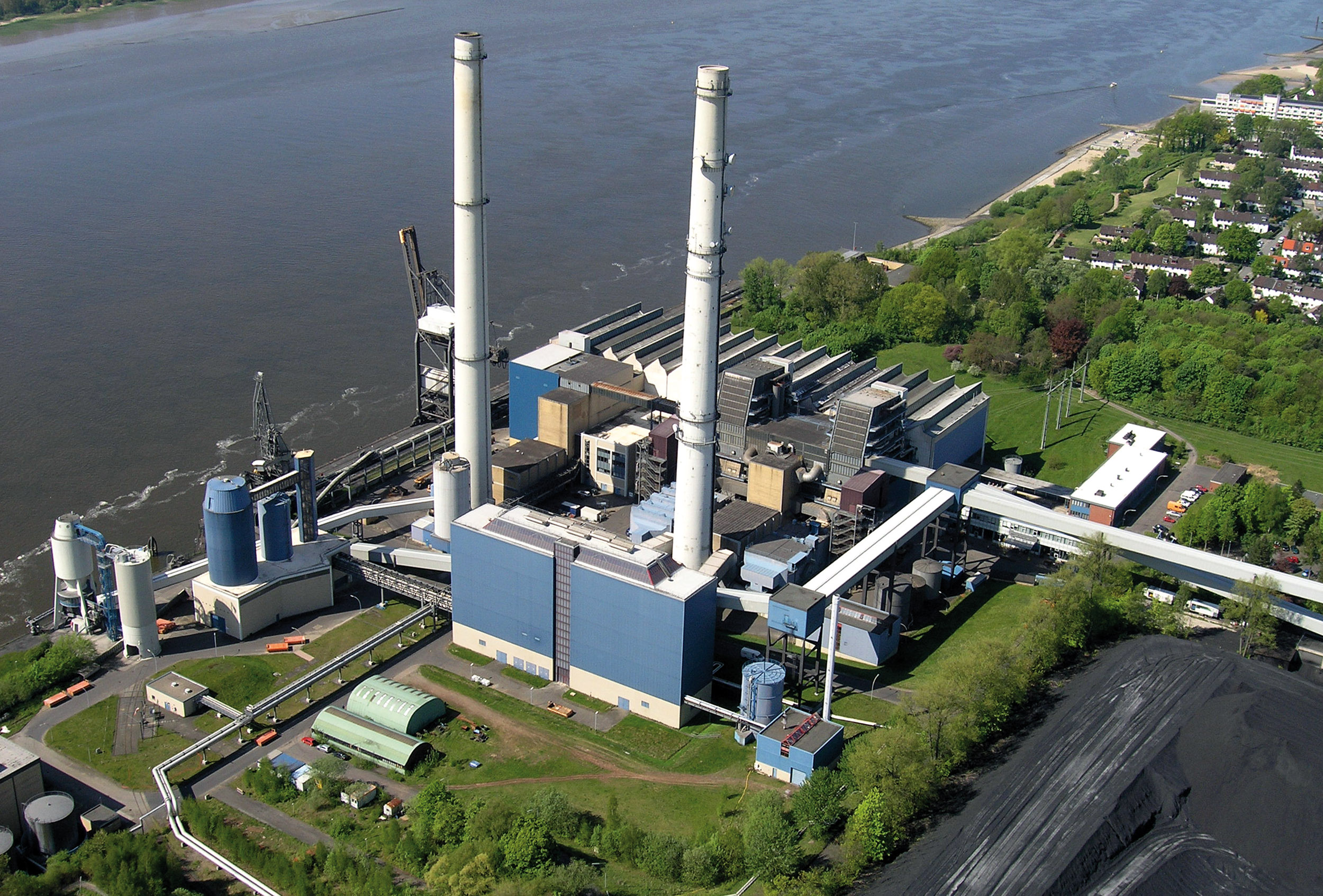 Power plants: Wedel.