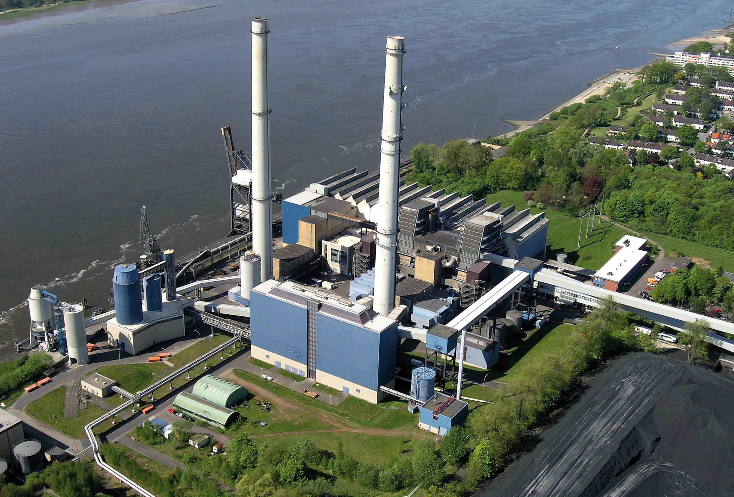 Power plants: Wedel.