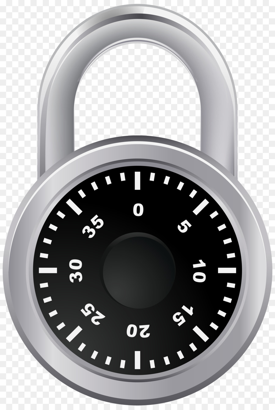 transparent combination lock clipart Combination lock Master.