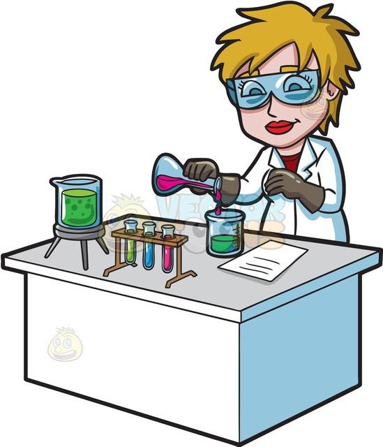 Mixtures In Science Clipart.