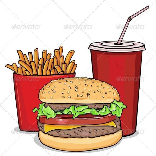 Clip Art Combo Meals.