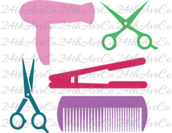 Iron scissors.