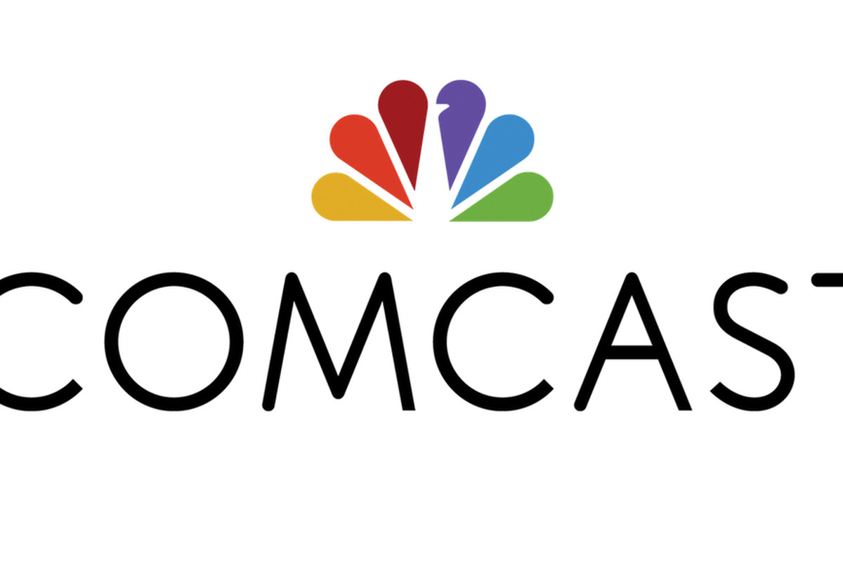 Comcast adopts NBC peacock as part of new logo.