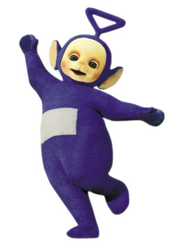 Come And See With Tinky Winky clipart.