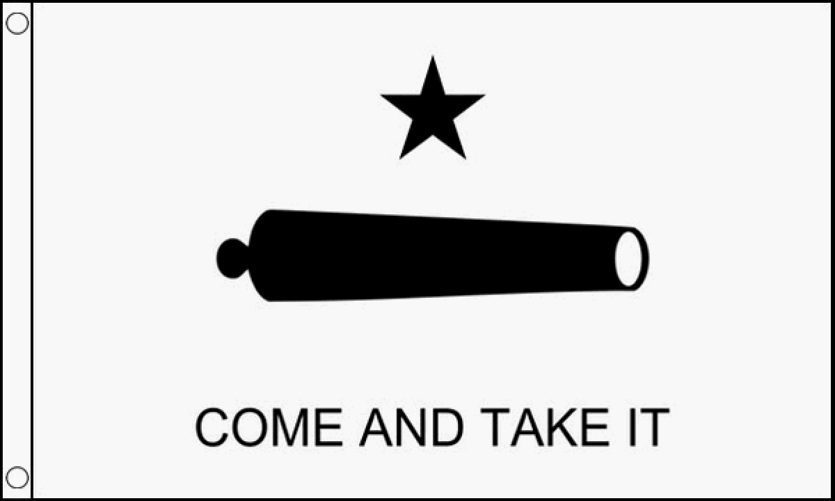 Come and Take It Flag (Medium).