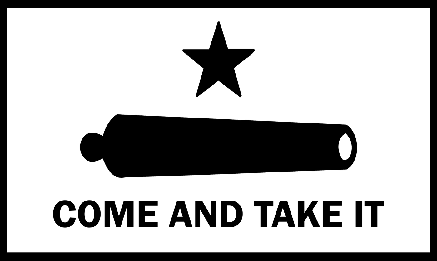 Come And Take It Flag Decal.
