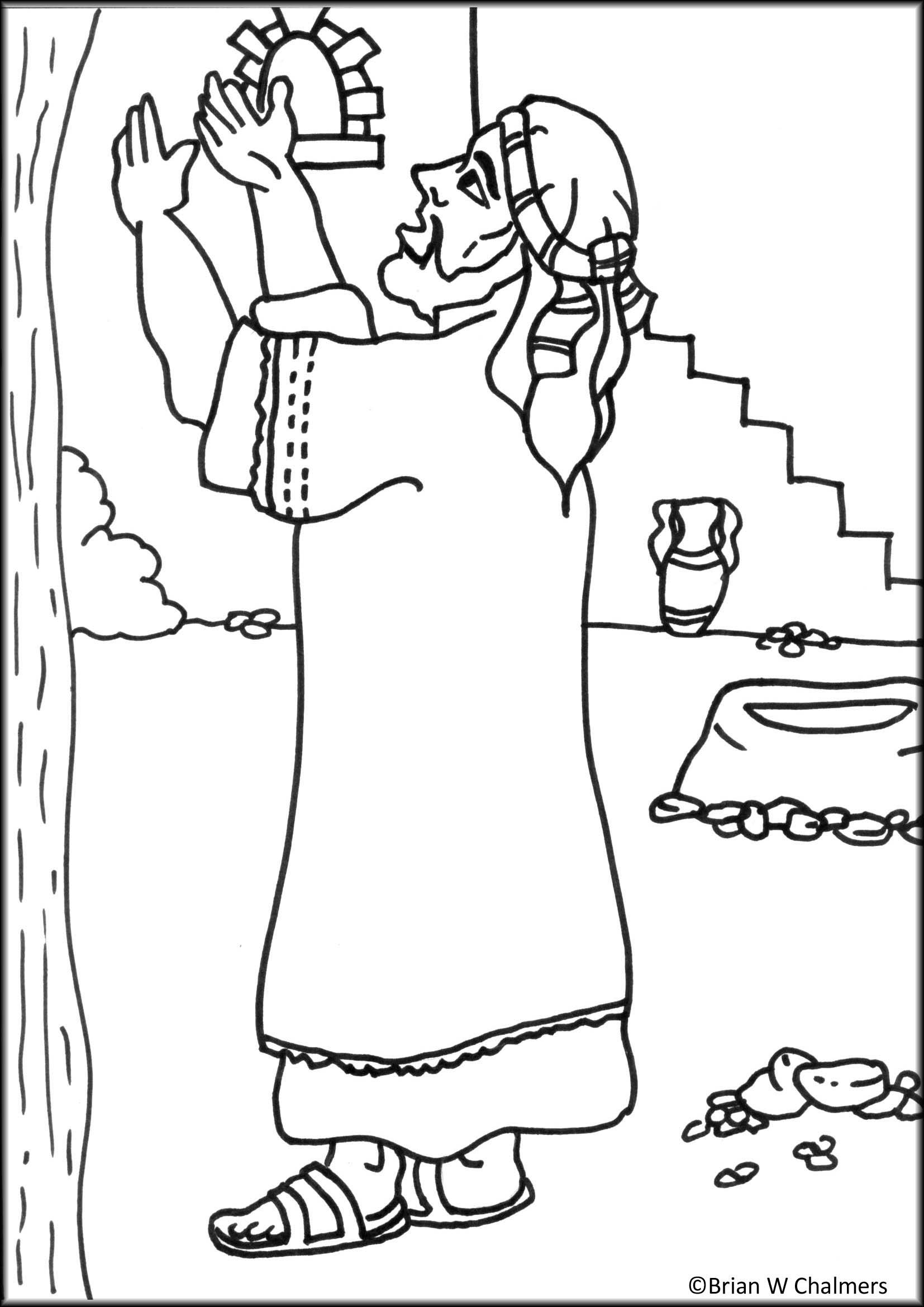 jesus zacchaeus clipart 20 free
