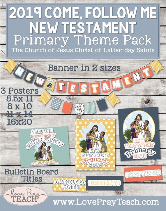 Come, Follow Me—For Primary: New Testament 2019 Download For.