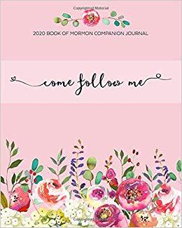 2020 Book of Mormon Companion Journal Come Follow Me: Pink.