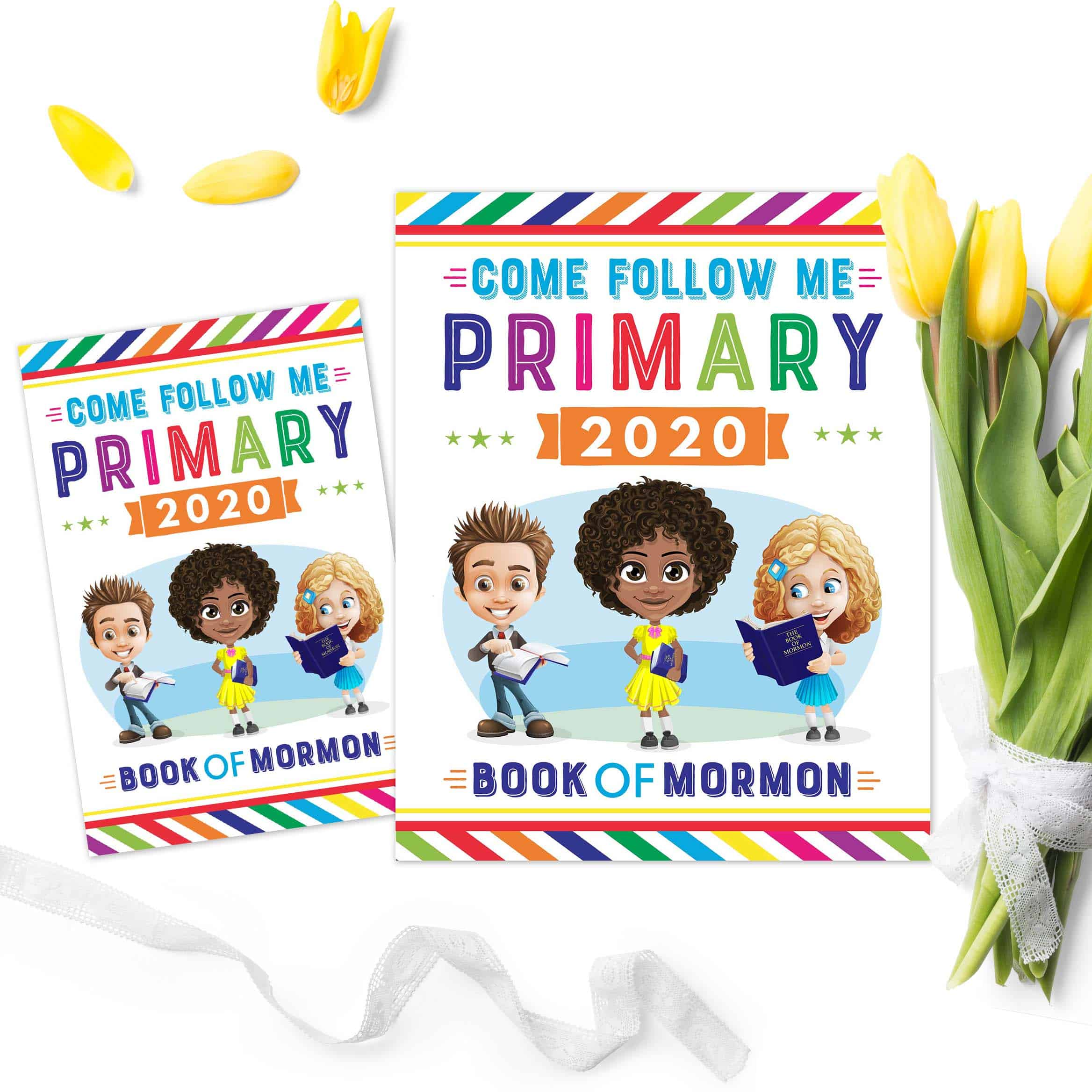 Free Primary 2020 Printables for Come Follow Me.