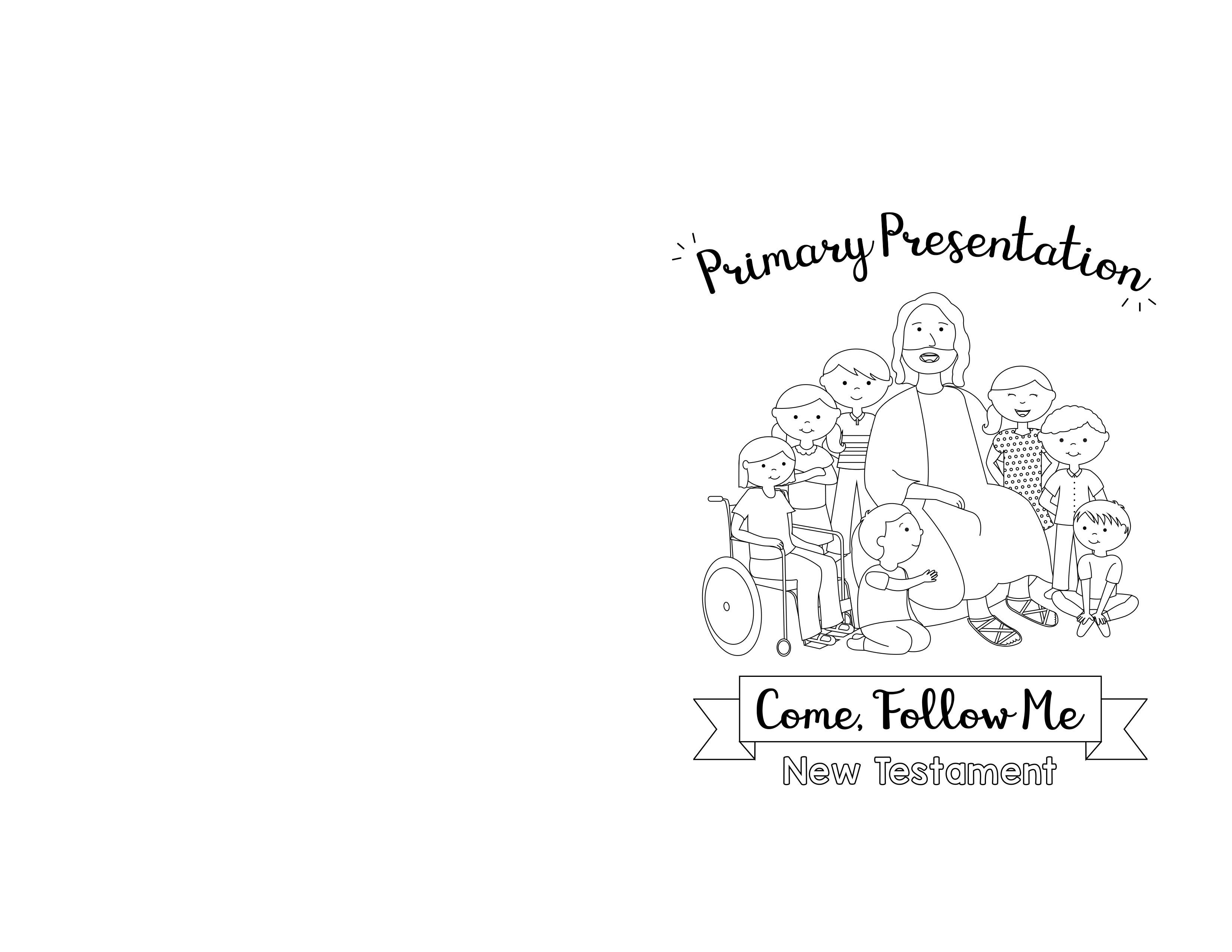 2019 LDS Primary Program Covers for Children\'s Presentation.