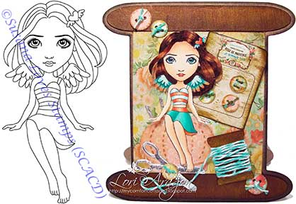 Susana's Custom Art and Card Design.