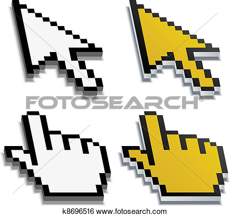Why do pixel clipart come out blurred.