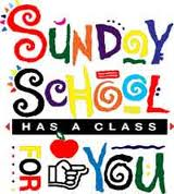 Come To Sunday School Clipart.