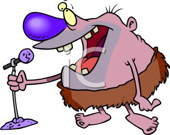 Caveman Comedian.