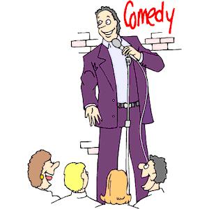 Comedian Clipart.