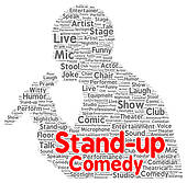 Stand Up Comedians Stock Illustrations.