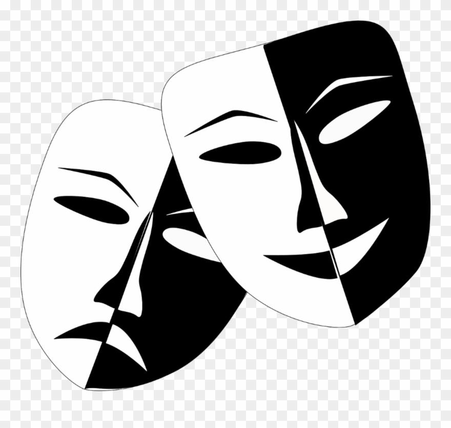 Comedy Masks.
