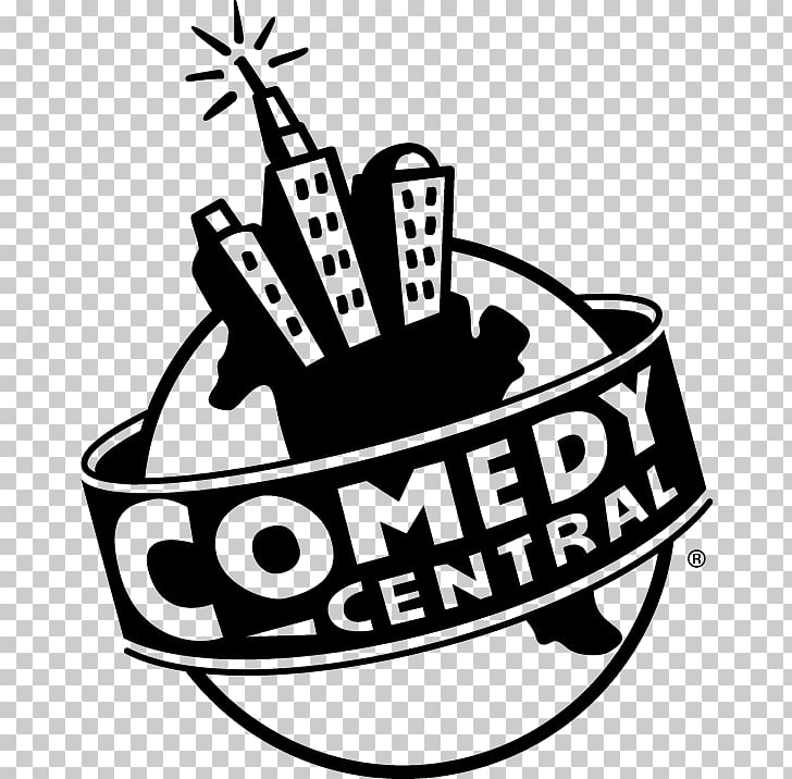Comedy Central Logo, silver shield PNG clipart.