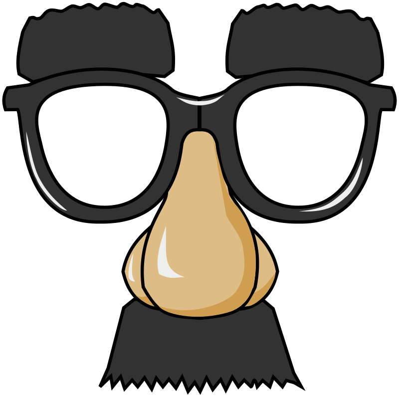 Free Clipart: Funny Glasses.