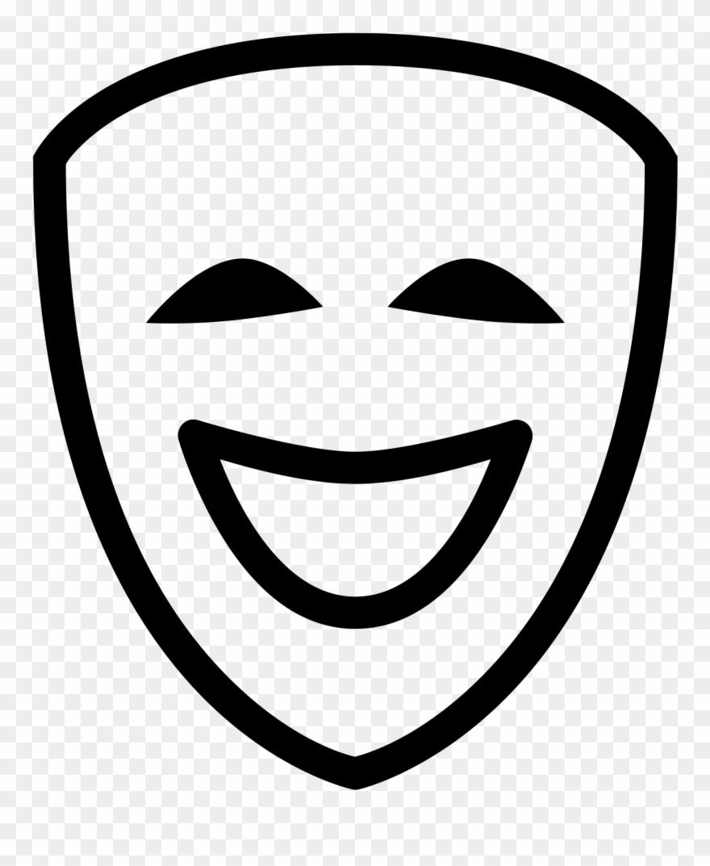 Theatre Mask Free Social Line.