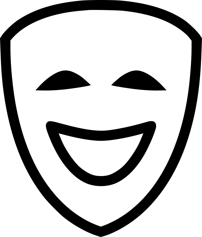 Comedy Svg Png Icon Free Download (#432042).