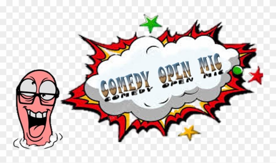 Logo Comedy Open Mic Clipart (#1680447).