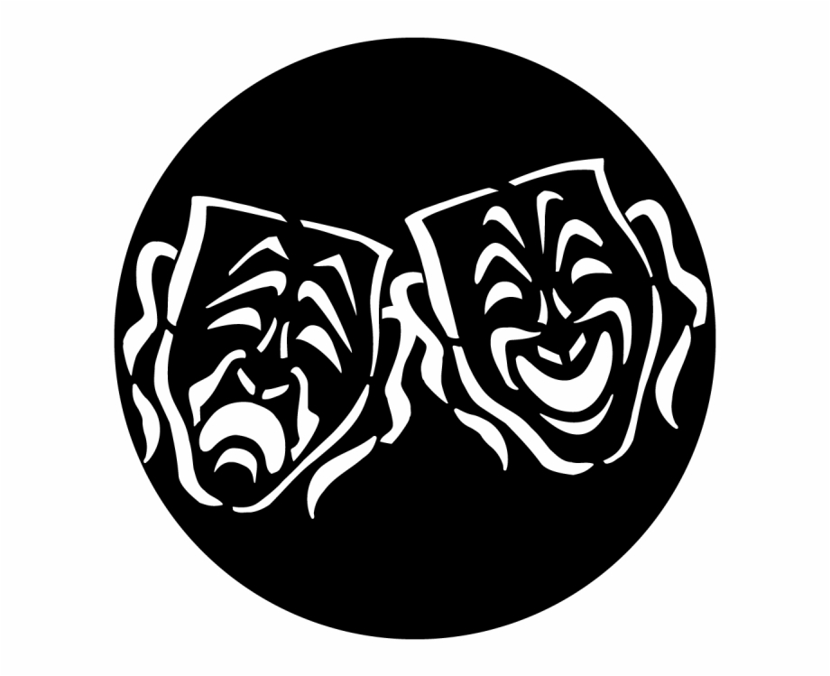 Apollo Masks Tragedy Comedy Gobo Dr Coys Logo.