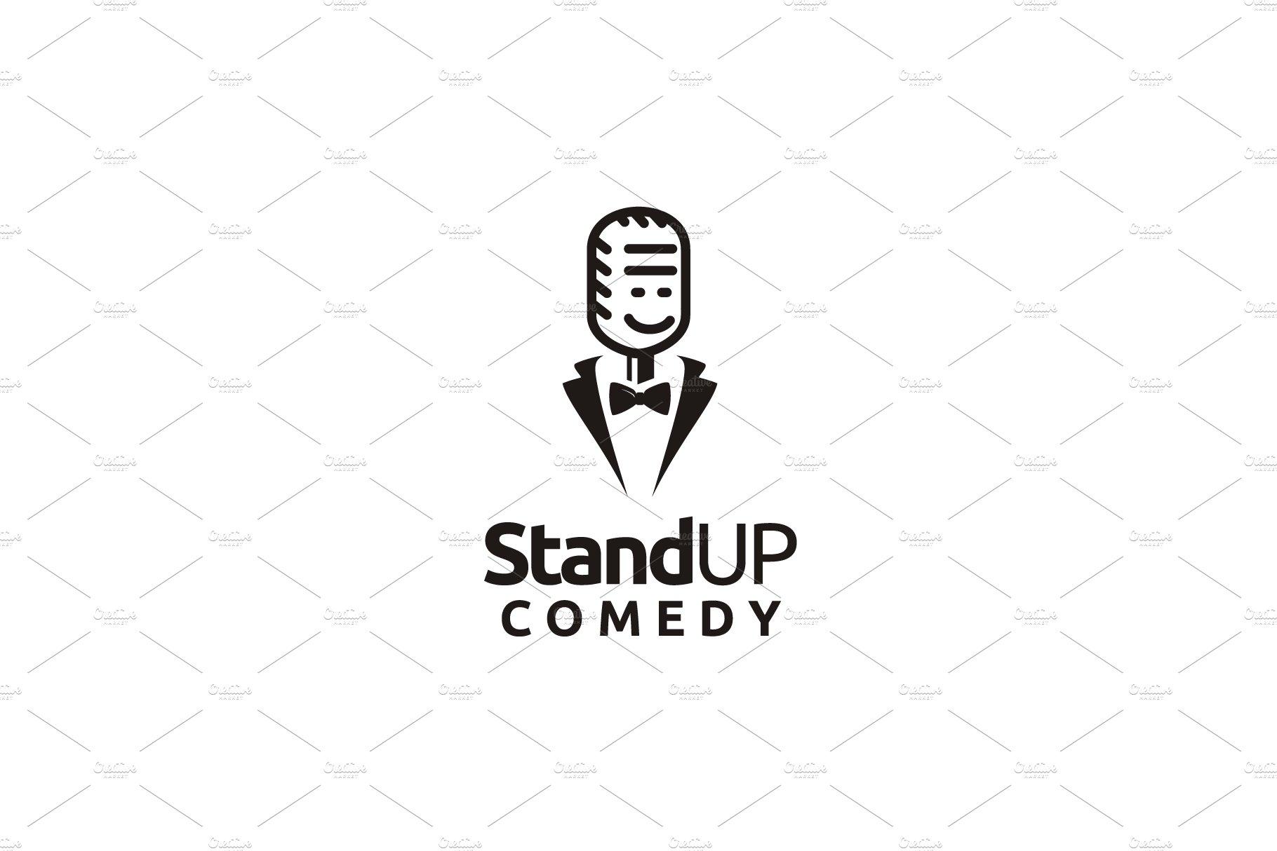 Stand Up Comedy logo design.