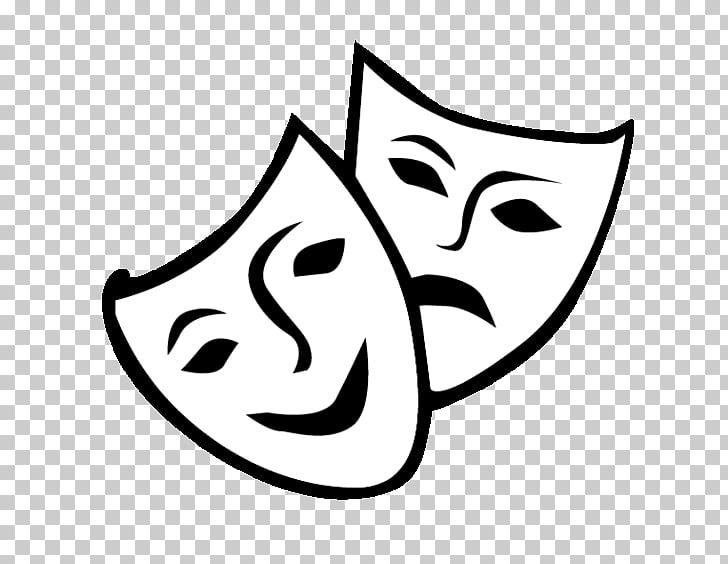Theatre Drama Mask Comedy , mask PNG clipart.