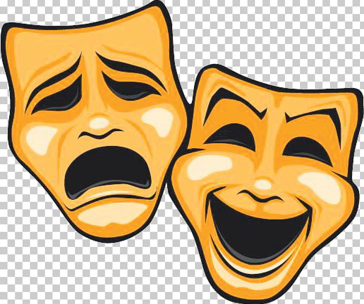 Mask Theatre Tragedy Comedy PNG, Clipart, Acting, Comedy, Dinner.