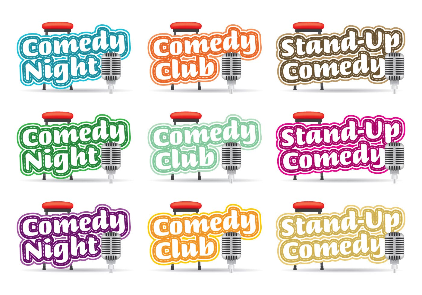 Comedy Logos Titles.