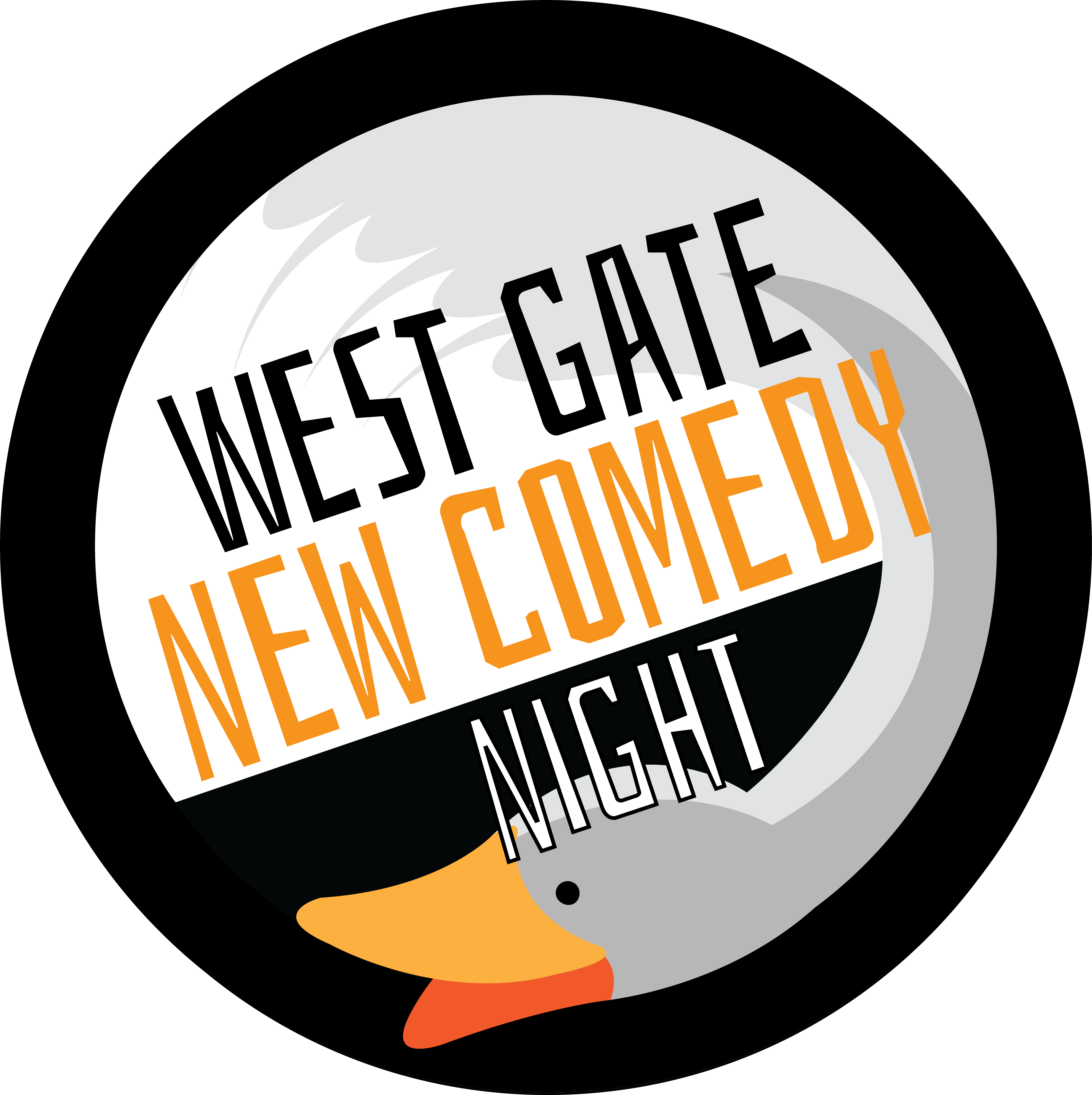 """west Gate New Comedy Night"""" At The West Gate Clipart."""