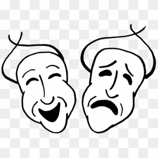 Comedy Tragedy Masks PNG Images, Free Transparent Image Download.
