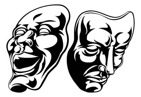 10,372 Drama Mask Stock Illustrations, Cliparts And Royalty Free.