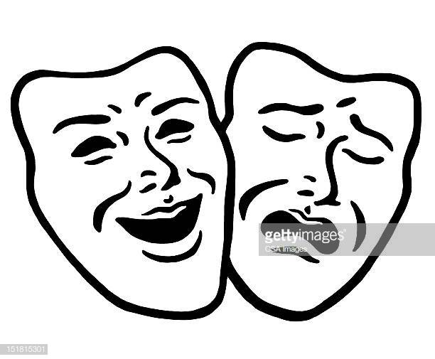 60 Top Tragedy Mask Stock Illustrations, Clip art, Cartoons, & Icons.